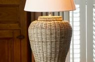 Luxusná stolná lampa z Elminy #osvetlenie #lampa #stolnalampa #luxusnelampy