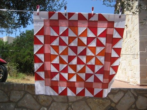 Tutorial - making a baby quilt