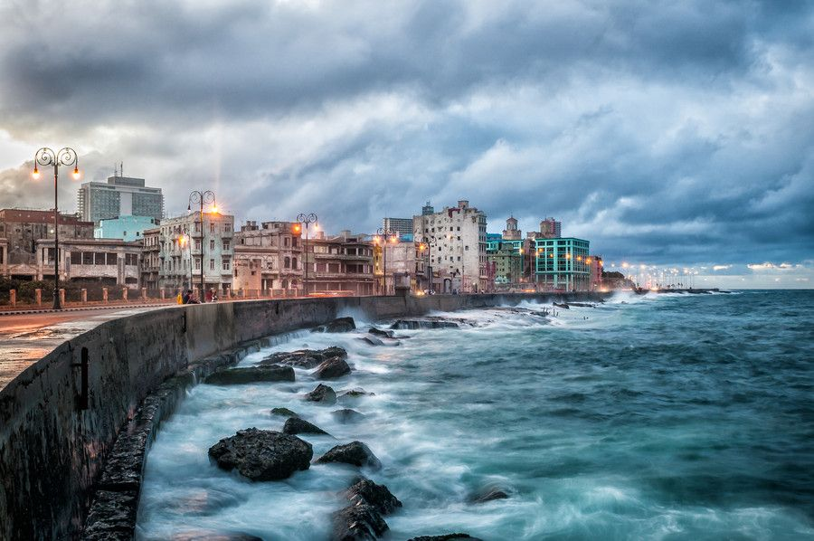 Along the Malecon, Havana Cuba by Dale Johnson | http://www.cuba-junky.com