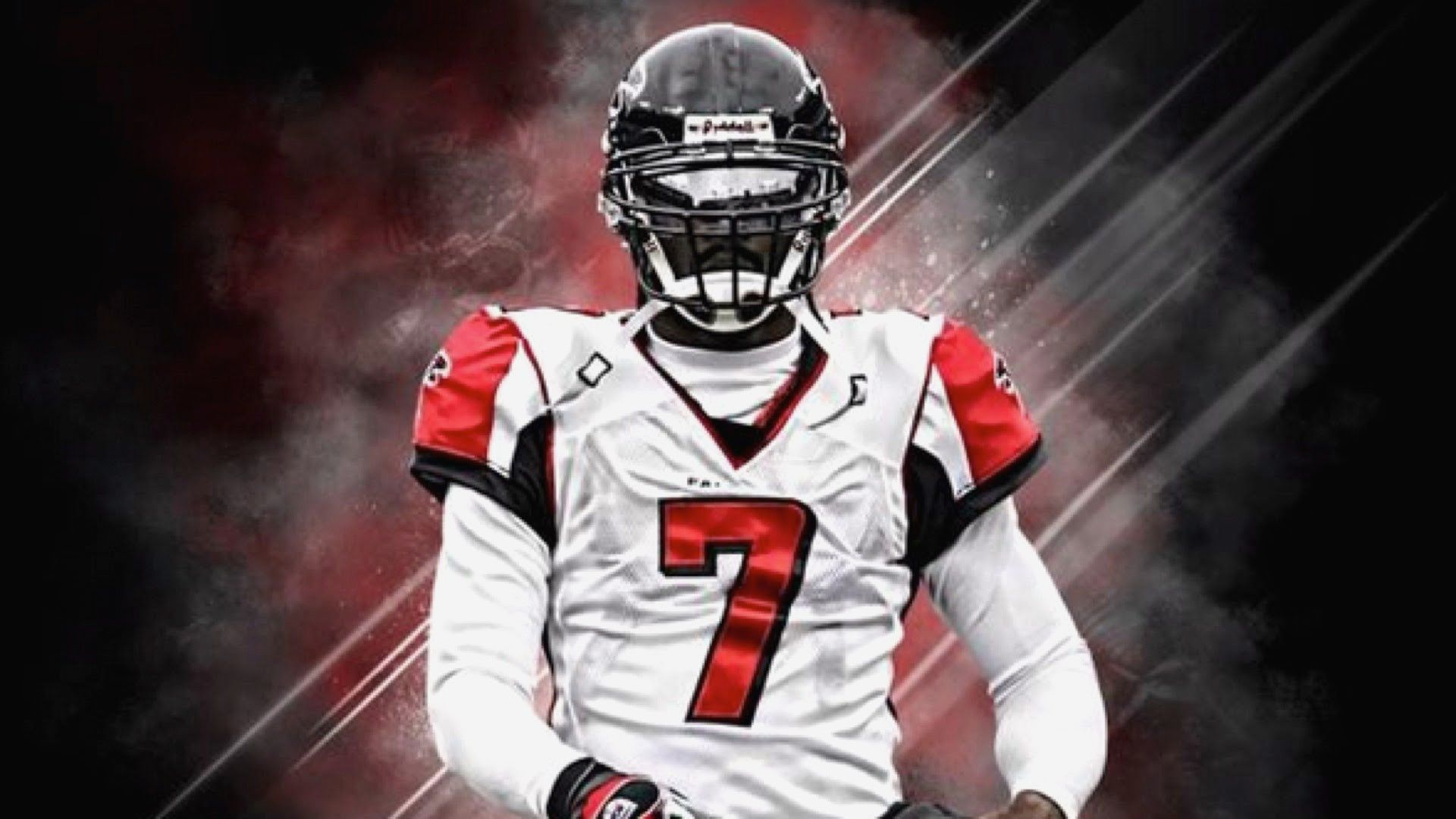 Michael Vick Wallpaper Atlanta Falcons Wallpaper Michael Vick Atlanta Falcons