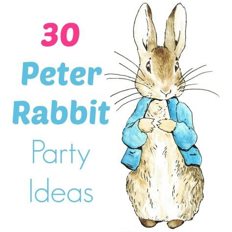 30 Peter Rabbit birthday party ideas BabyCentre Blog