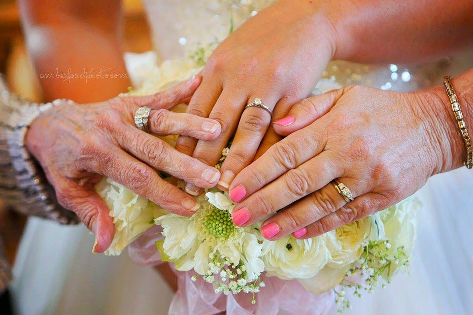 Wedding rings - 3 generations