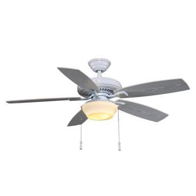 Hampton bay gazebo ii 52 in indooroutdoor white ceiling fan yg188 hampton bay gazebo ii 52 in indooroutdoor white ceiling fan yg188 aloadofball Choice Image