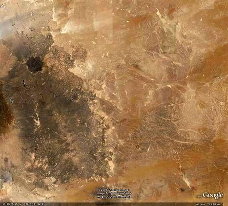 el desierto de al-Nafud - Arabia Saudi