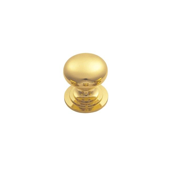 Polished Brass Victorian Style Cabinet Knobs