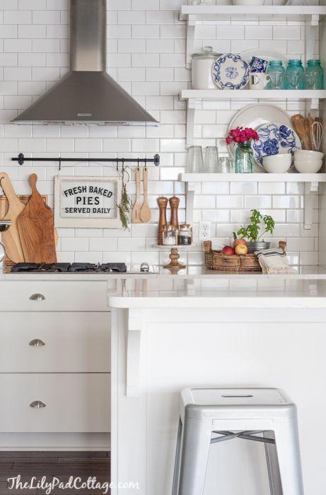 House Tour With Images White Kitchen Decor