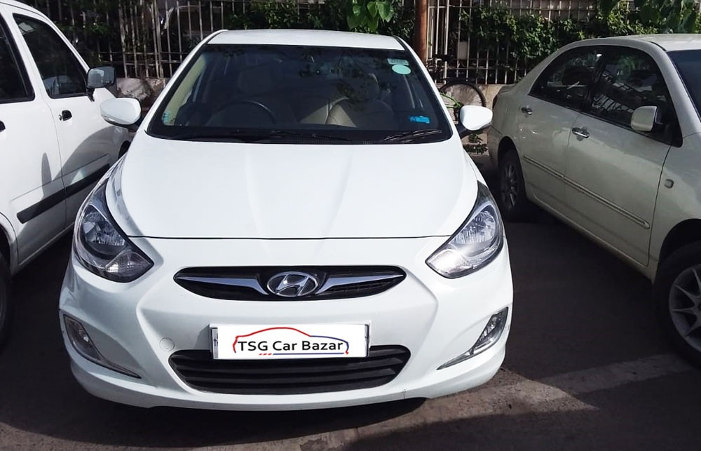 Used Hyundai Verna is on sale at affordable price. Get