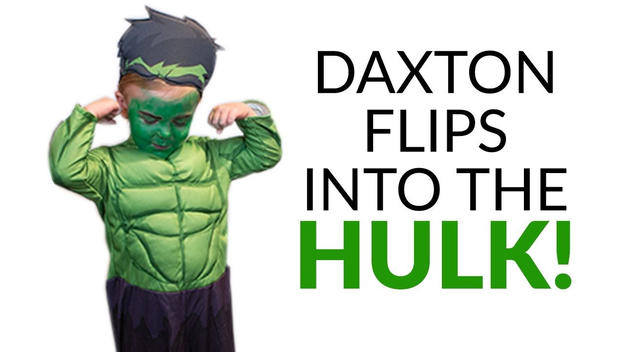 Daxton Flips into the HULK! | The Mom's View