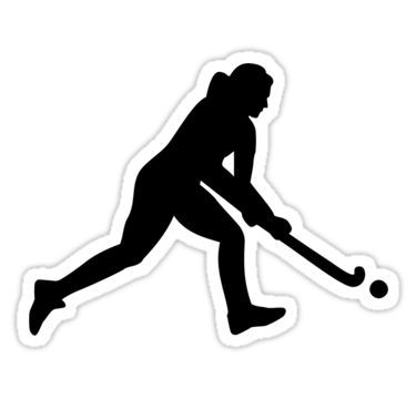 Field Hockey Girl Sticker By Designzz In 2020 Field Hockey Stickers Field Hockey Girls Womens Field Hockey