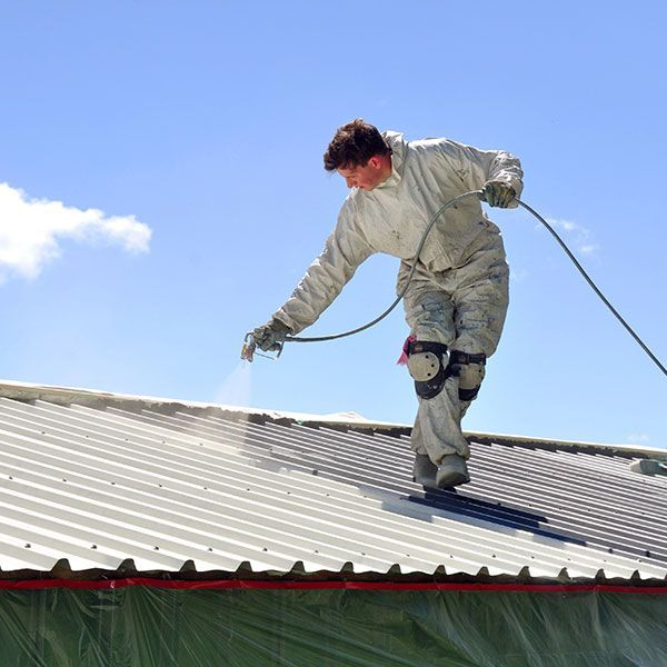 Painting The Roof Of A Building White Can Help To Passively Keep The Interior Cool Hvac Summitcollege Cool Roof Roof Paint Roof Coating