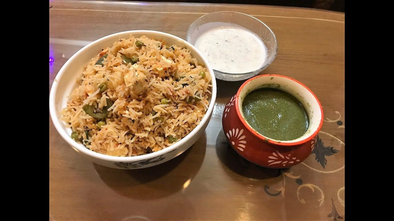 Matar paneer pulao l cottage cheese rice l easy dinner recipe matar paneer pulao l cottage cheese rice l easy dinner recipe youtube forumfinder Gallery