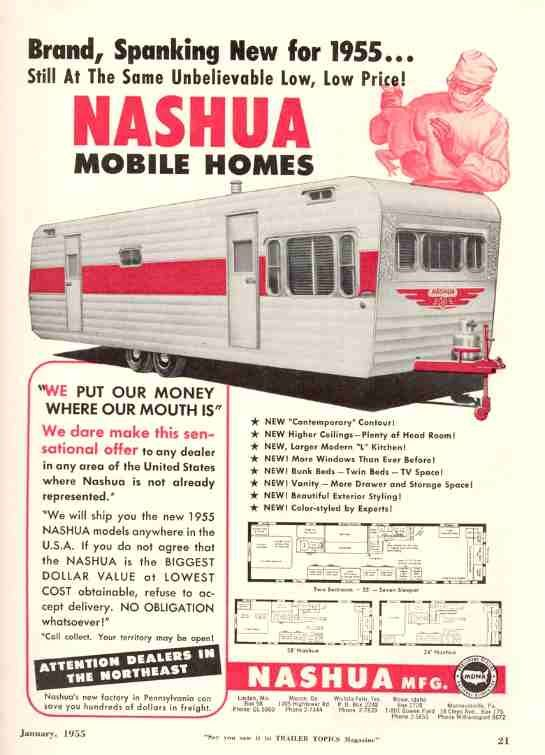 1955 Nashua Plans | Nashua, Vintage campers trailers ... on windham mobile homes, brentwood mobile homes, montana mobile homes, breckenridge mobile homes, san antonio mobile homes, franklin mobile homes, new mexico mobile homes, campbell mobile homes, gardner mobile homes, california mobile homes, warren mobile homes, melrose mobile homes, mobile mobile homes, lexington mobile homes, new york mobile homes, waverly mobile homes, burlington mobile homes, portland mobile homes, austin mobile homes, belmont mobile homes,