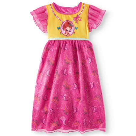 b07a561e63f49 Fancy Nancy Poly Sleep Gown (Toddler Girls), Size: 3T, Pink in 2019 ...