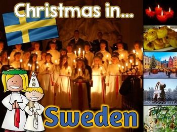 Christmas Around the World PowerPoint: Sweden | Christmas ...