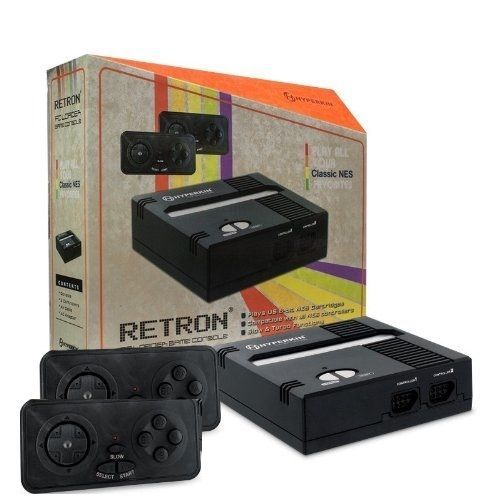 Seller: Products Universal, Category: Video Games, Price: $35.99, Title: Retron 1 NES System Top Loader BLACK + 2 Controllers Nintendo Console ✔✔NEW ✔✔