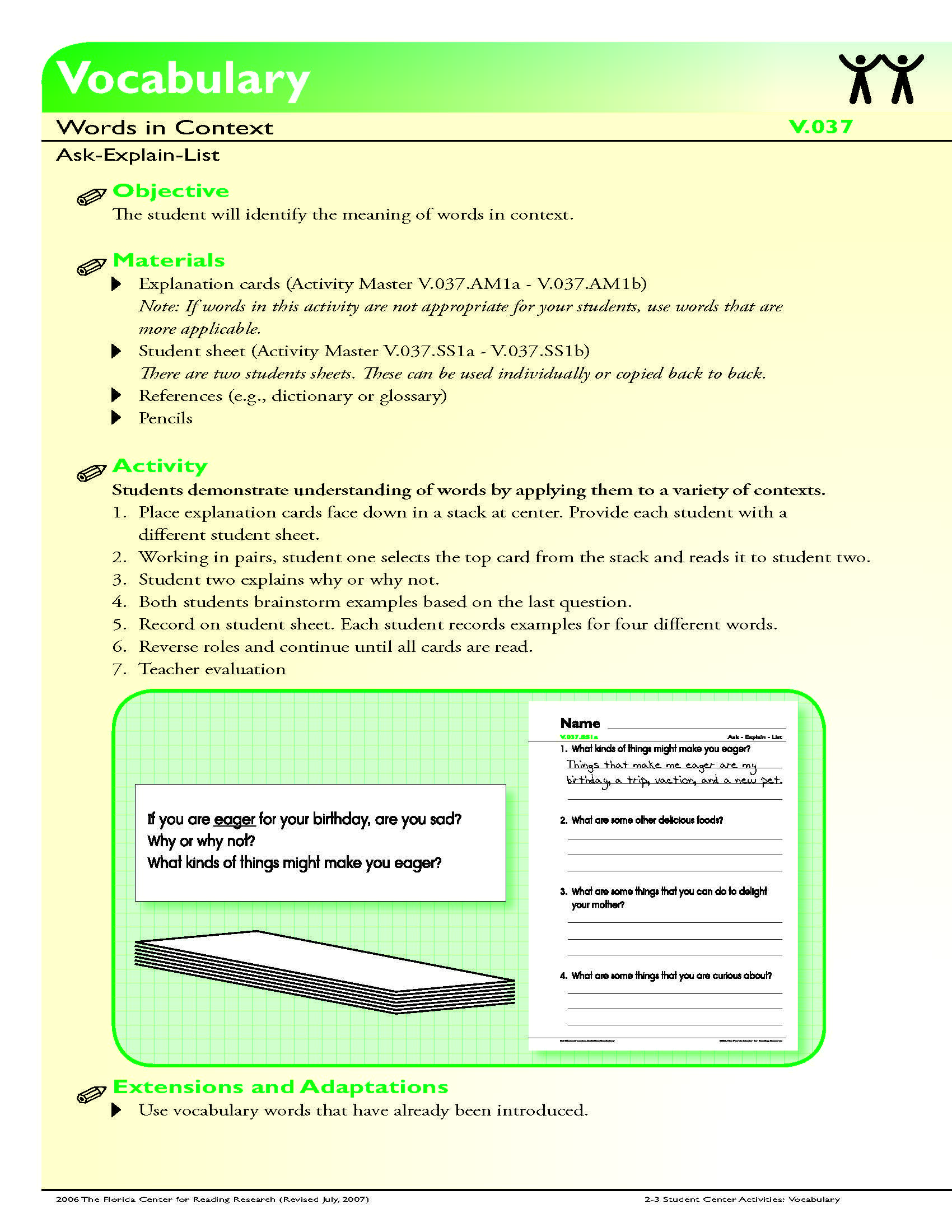 The Student Will Identify The Meaning Of Words In Context Context Clues Worksheets Context Clues 5th Grade Context Clues [ 2200 x 1700 Pixel ]