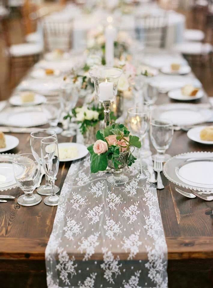 Table setting. Love it