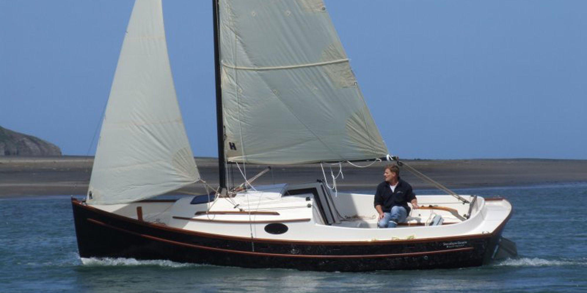 Swallow Boats BayCruiser 23 | trailer sailors | Pinterest | Swallows, Boating and Small sailboats