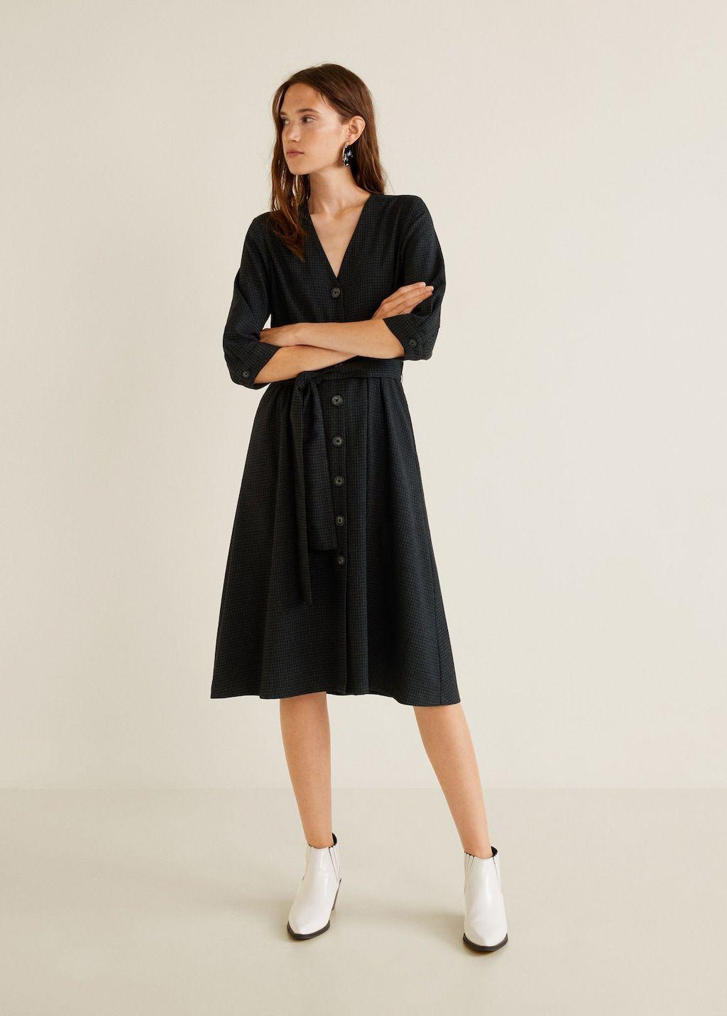 Robe nœud à carreaux - Femme   23 - Fashion crush   Pinterest ... 20233752c0be