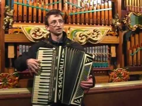 Vintage Scandalli Italian Piano Accordion - YouTube
