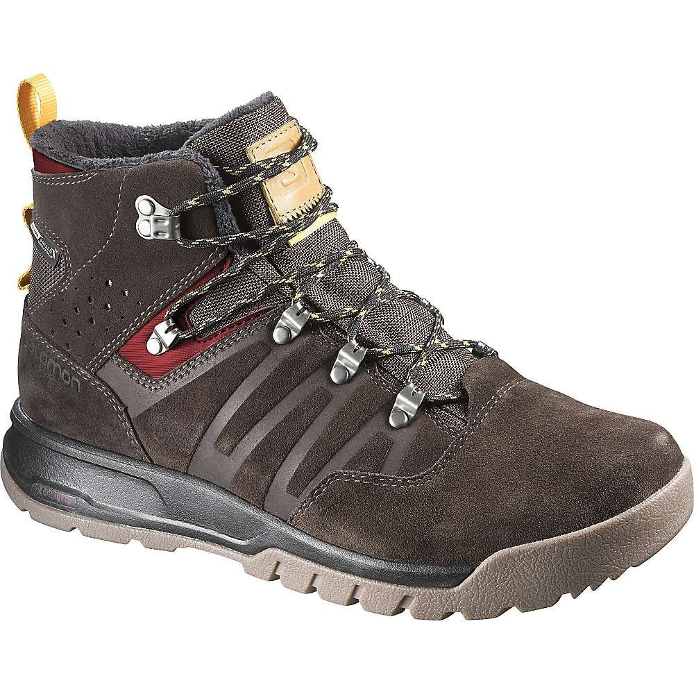 Salomon Men's Utility TS CSWP Boot 13 Trophy Brown LTR