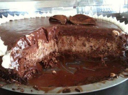 Bolo Sorvete De Chocolate Ideias Food Cakes Bolo Sorvetao