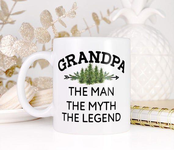 Funny Grandpa Gift Legend Grandpa Coffee Mug, Grandparent Gift for Him, Gift Gift for Grandpa Mug #grandpabirthdaygifts Funny Grandpa Gift Legend Grandpa Coffee Mug, Grandparent Gift for Him, Fathers Day Gift Birthday Gi #grandpagifts