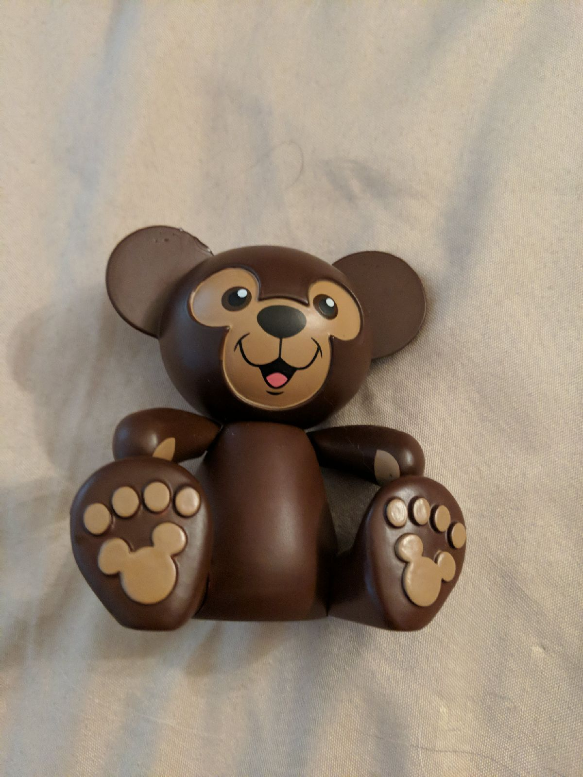 Disney Duffy the Disney Bear Vinylmation with slight