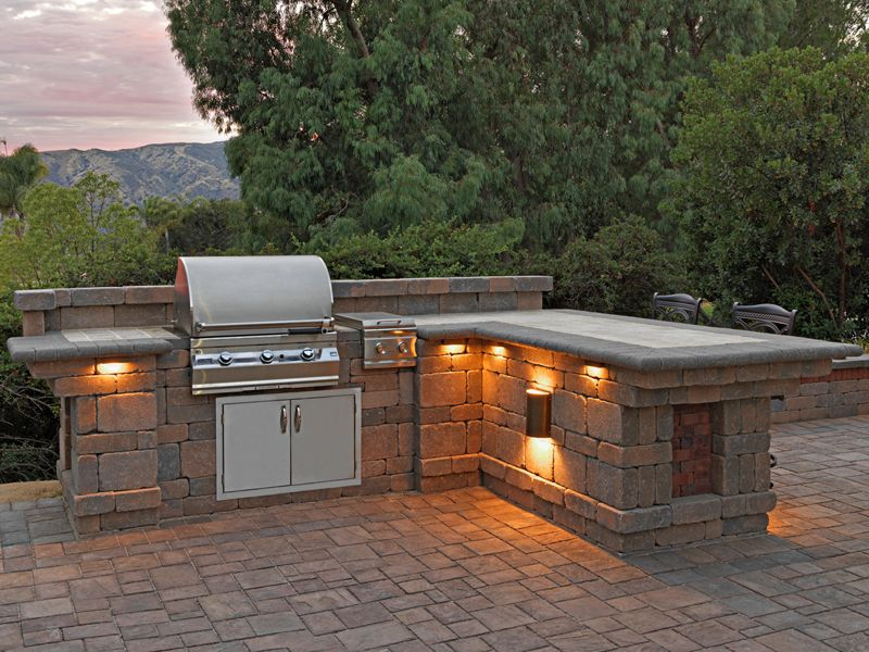 We Can Install Bbq Island In Many Styles And Designs
