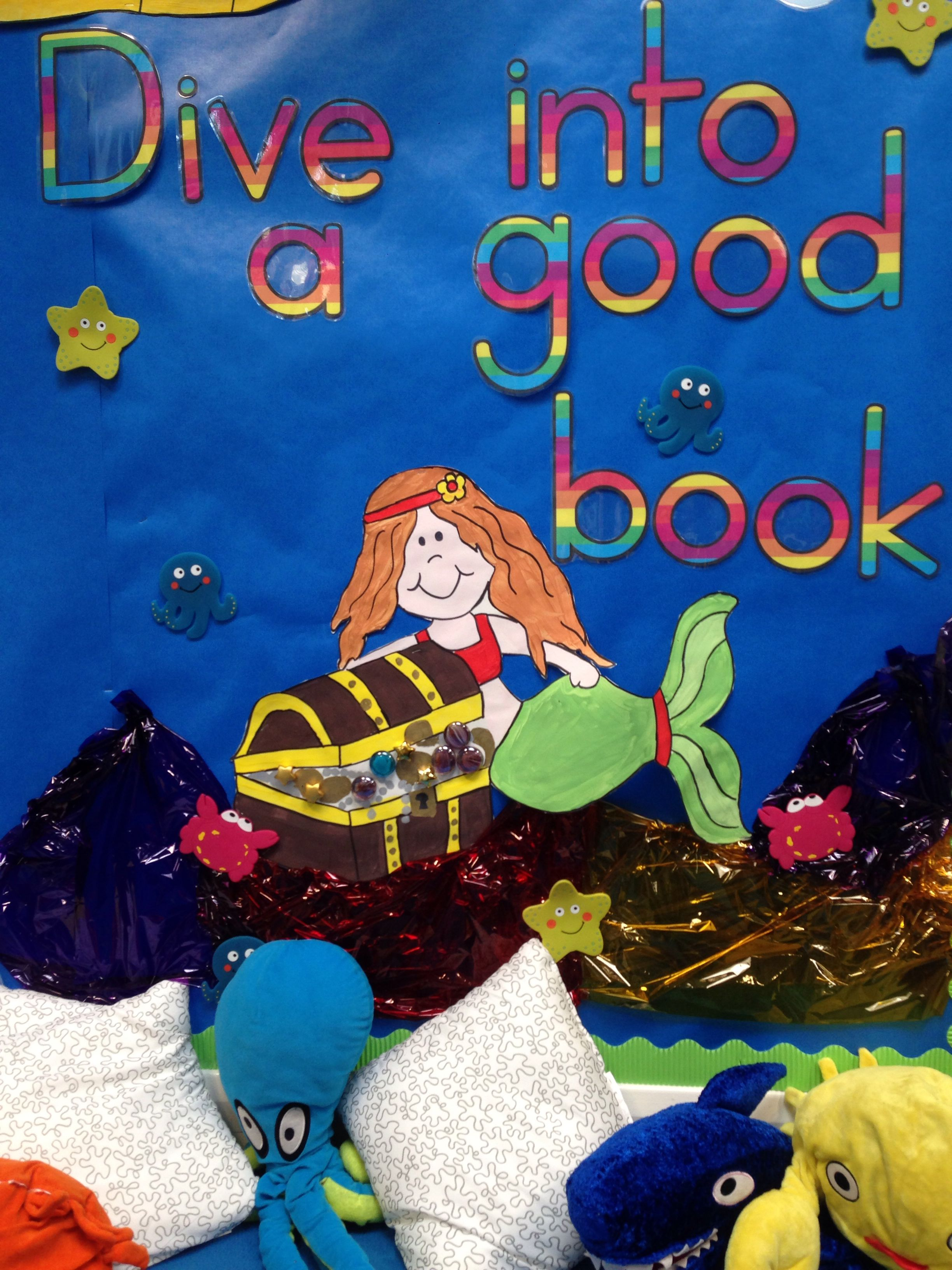 Reading Area Display Under The Sea Themed