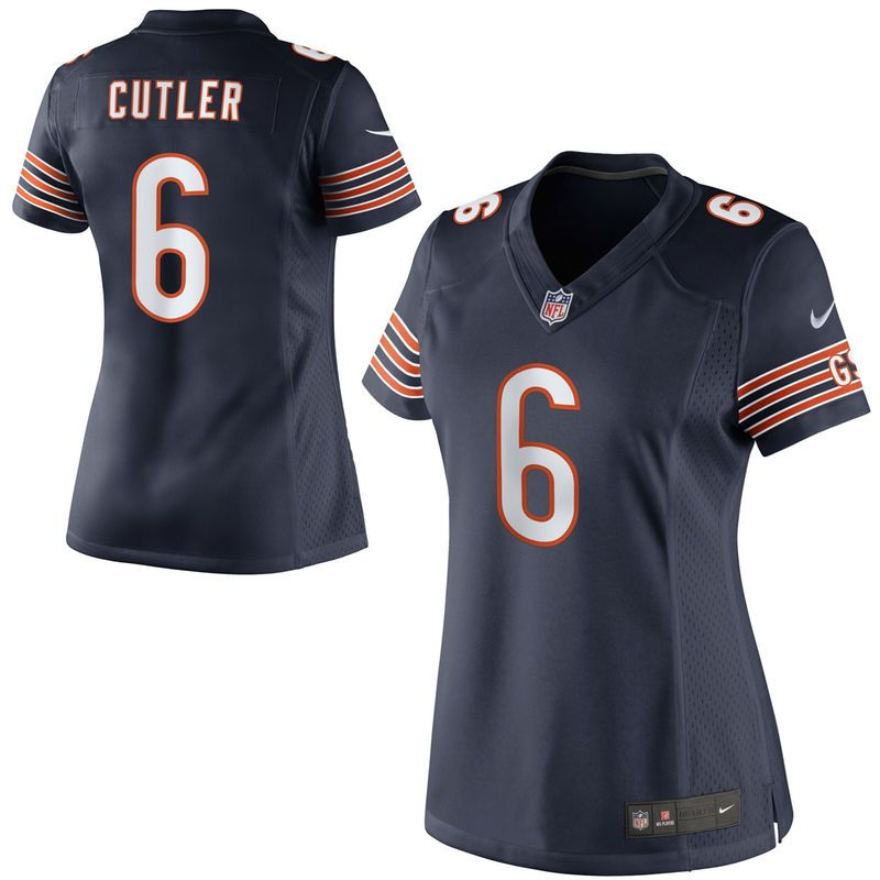 huge discount 76ec3 7ec80 Jay Cutler Chicago Bears Nike Women's Limited Jersey - Navy ...