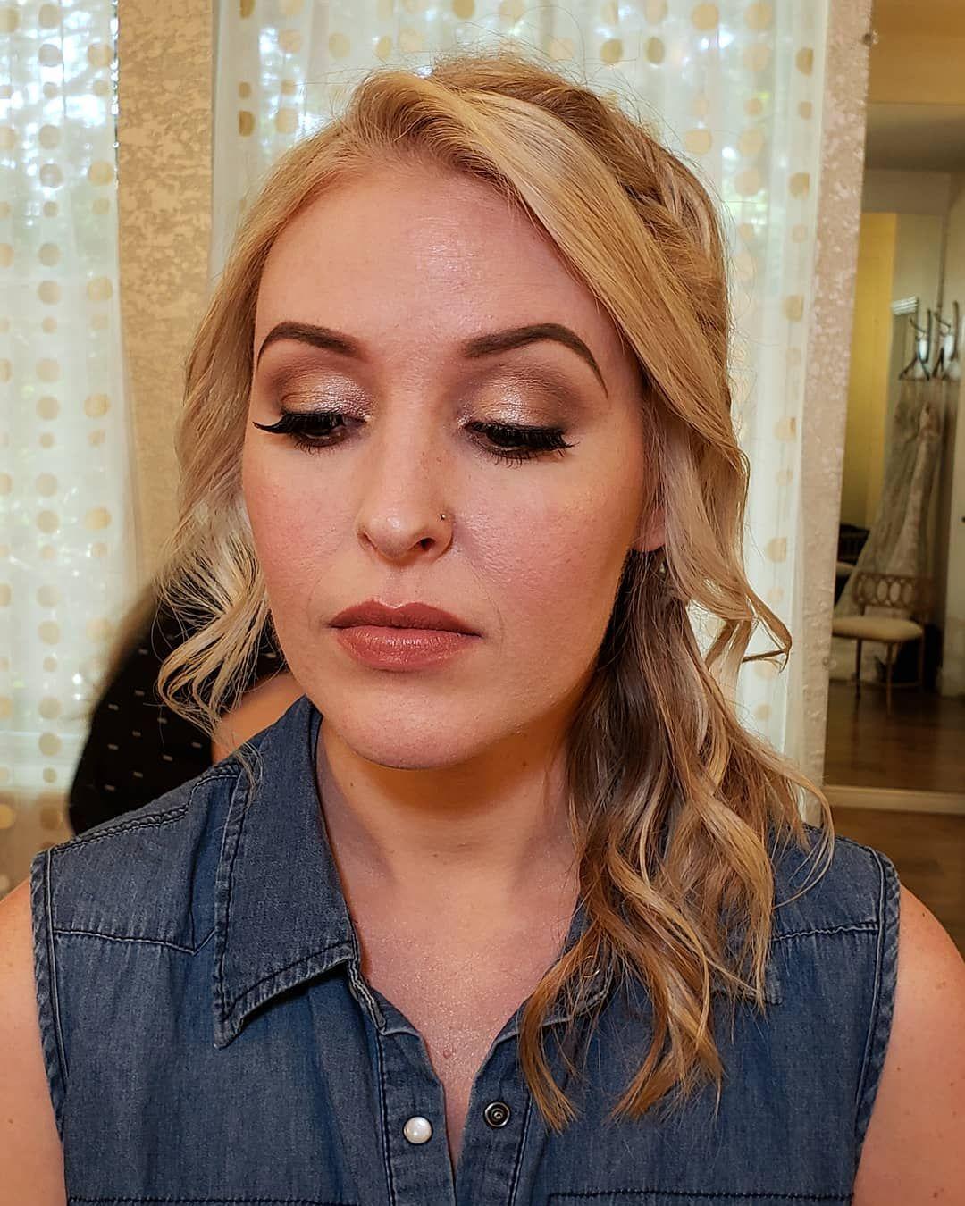 Makeup by Megan Berven & Hair by Sam Palmer at Glass