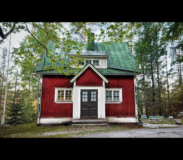 Red House Black Door White Trim Farmhouses And More In
