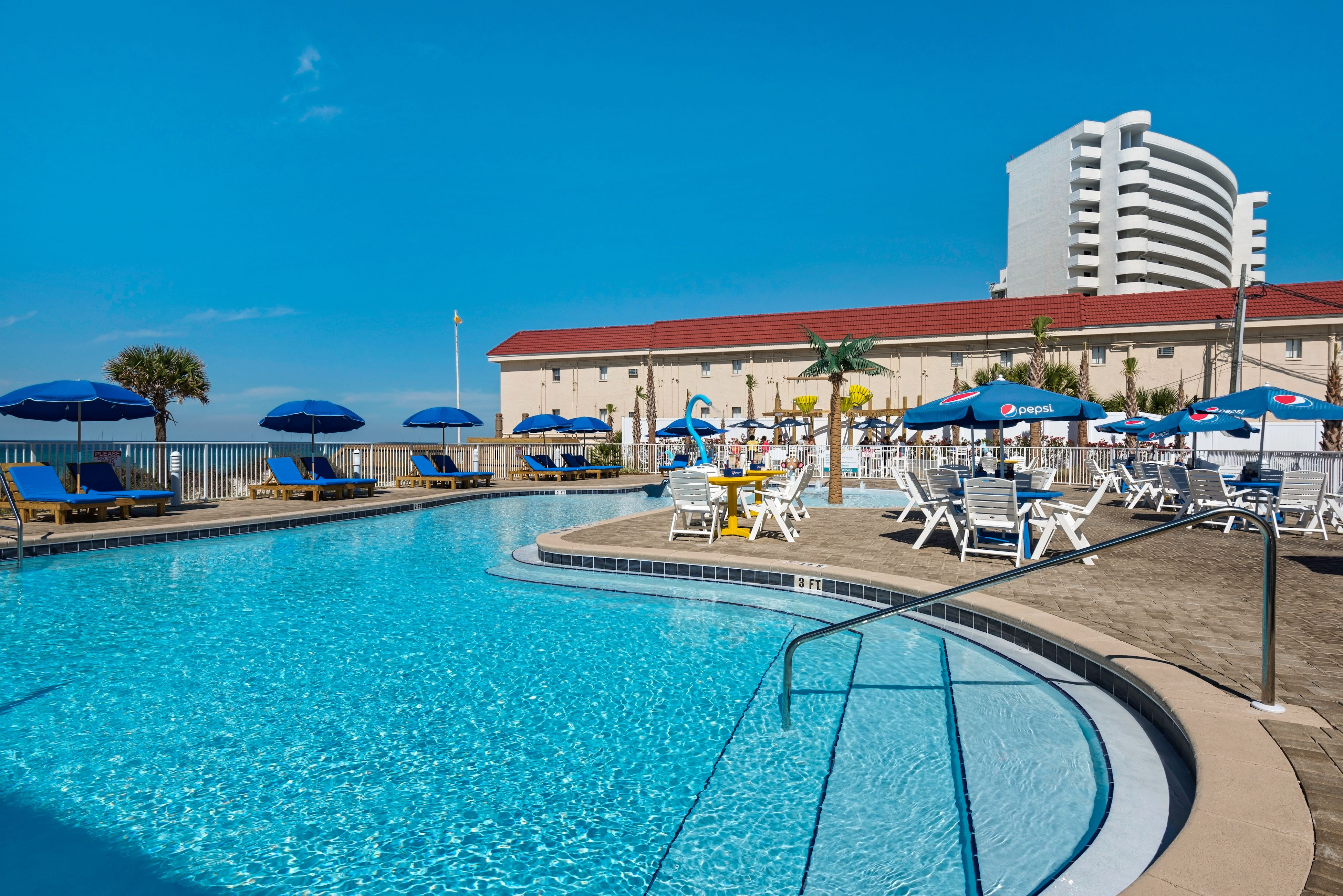 Panama City Beach Hotels >> Take A Break From The Beach And Hop In The Pool At Ocean