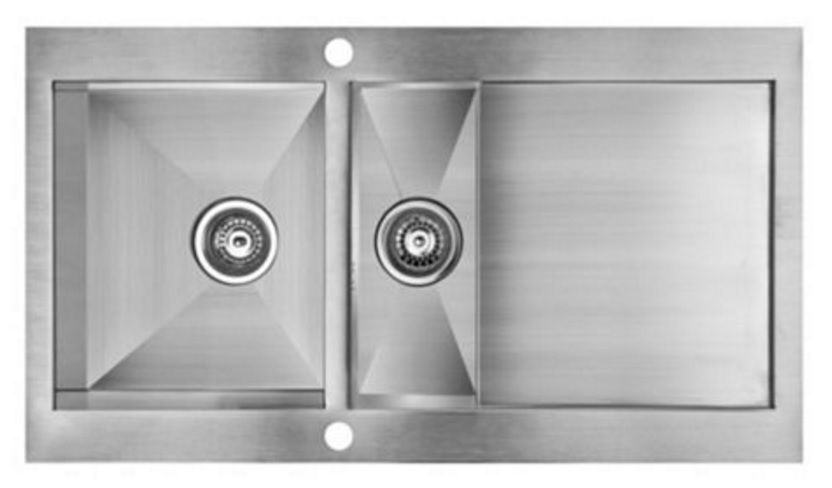 Cooke And Lewis Kitchen Sinks Cooke lewis unik 15 bowl brushed stainless steel kitchen sink cooke lewis unik 15 bowl brushed stainless steel kitchen sink topmount workwithnaturefo