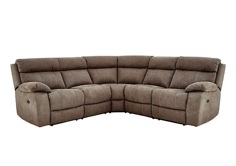 Furniture Village Moreno Fabric Recliner Corner Sofa Modern Living Room Style At A Really Great Price