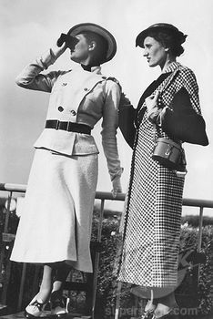 1930 and 1940 fashion
