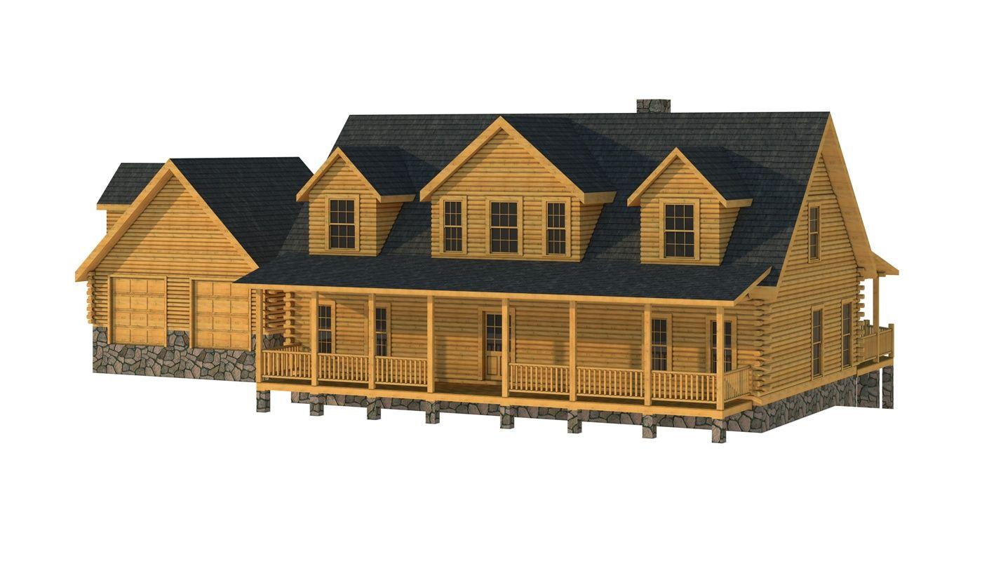 Crockett Plans Information Log Homes Log Home Plan Log Cabin Floor Plans