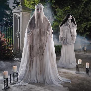 Life-size Venetian Victoria Figure Halloween Decorations Pinterest - life size halloween decorations