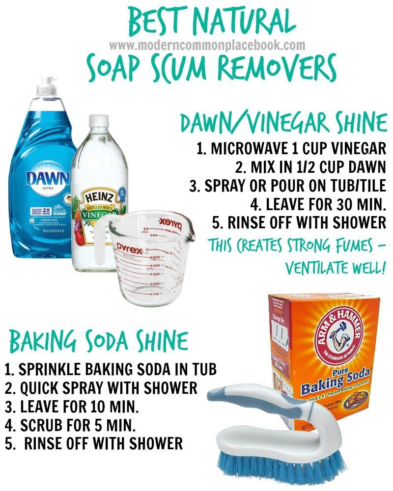 How To Remove Soap S Naturally With Two Simple Diy Recipes