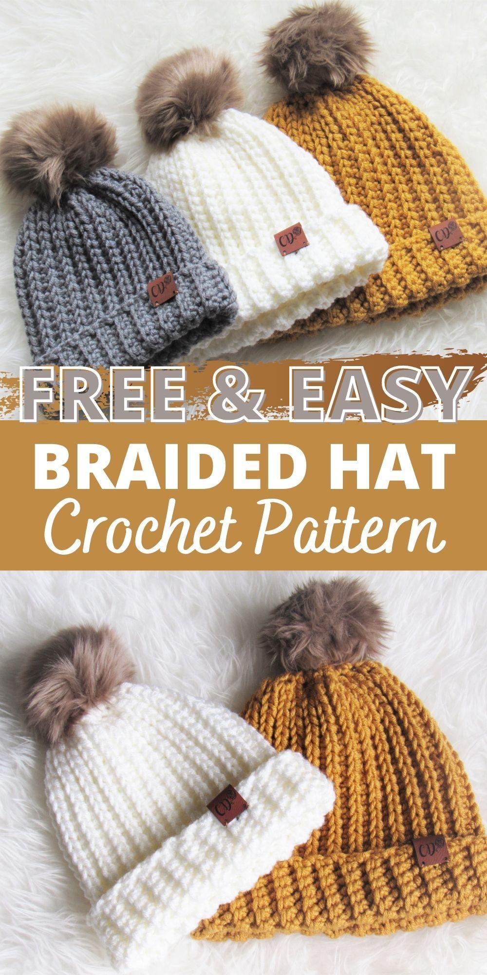 Crochet Ribbed Beanie In 6 Sizes Crochet Dreamz Crochet Beanie Pattern Free Crochet Hats Free Pattern Crochet Hat Pattern