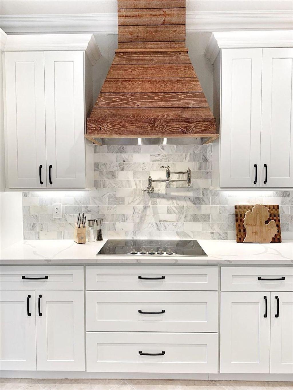 47 Astonishing Wood Hood Kitchen Design Ideas For Your ...