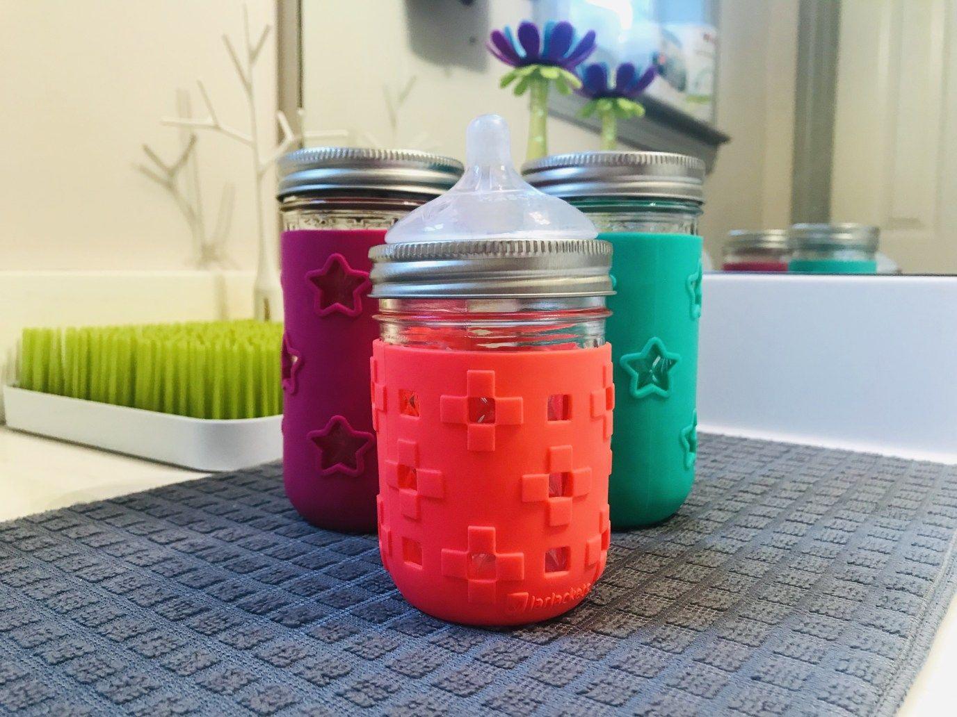 Jarjackets Silicone Sleeves For Mason Jars With Images Mason