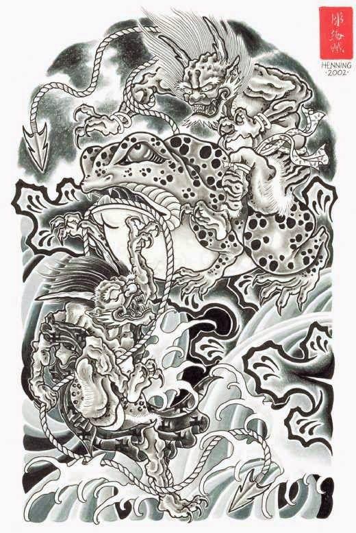 dise os japoneses dragones geishas carpas y mas 2 animal killer pinterest japan art. Black Bedroom Furniture Sets. Home Design Ideas