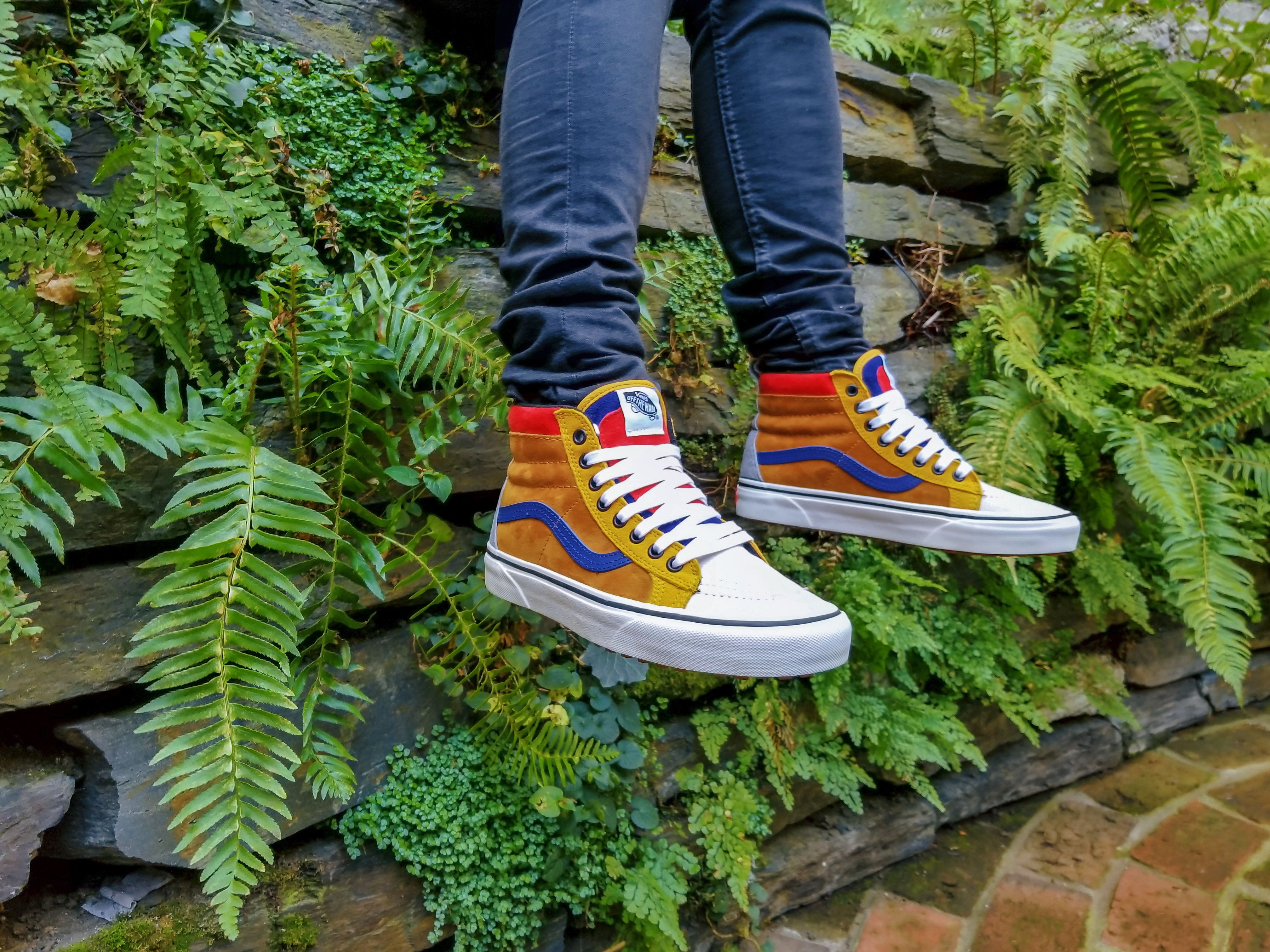 f026cbefa2 These new  vans Sk8-Hi MTE kicks will keep you looking fresh and keep your  feet toasty as the crisp cool weather arrives. With a heat retention layer