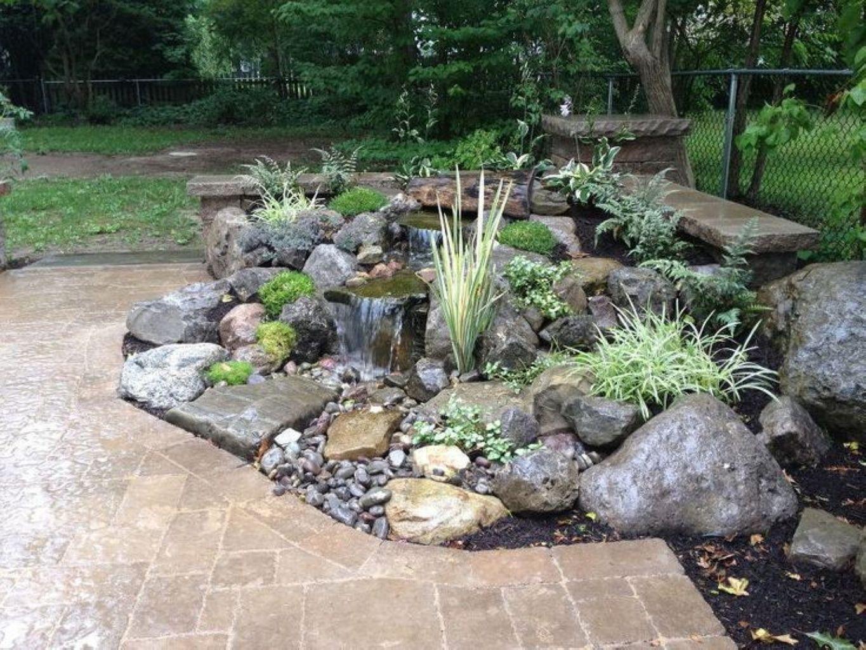 Amazing Rock Garden Ideas For Backyard 30 ... on Rock Garden Waterfall Ideas  id=15385
