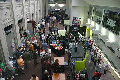 Buffalo Museum of Science, Balcony and Atrium at by sciencebuff