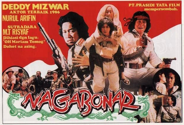 1987 Naga Bonar Mt Risyaf Aktor Foto Lucu Film