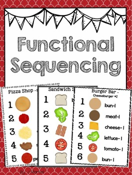 Functional Sequencing An Activity Of Daily Living Activities Of Daily Living Sequencing Activities Special Education Teacher