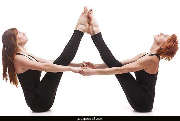 Yoga Poses For 2 Yogaposes Com Yoga Poses For Two Two People Yoga Poses Partner Yoga Poses